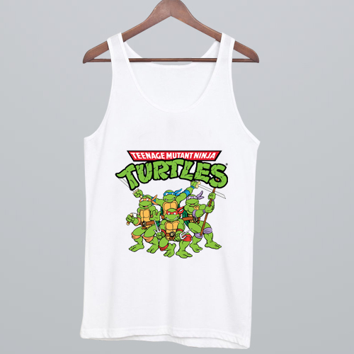 TMNT Teenage Mutant Ninja Turtles Tank Top NA