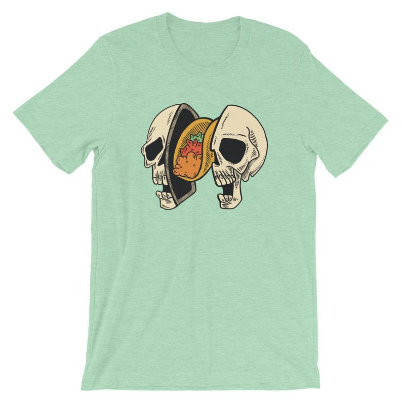 Tacos on My Mind T Shirt NA