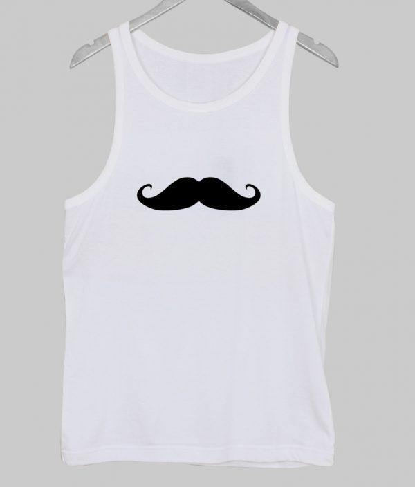 mustache tank top NA