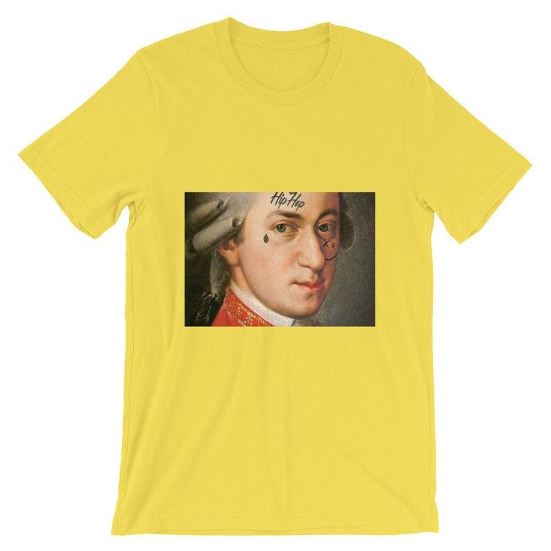 Face Tatt Mozart Short-Sleeve Unisex T Shirt NA