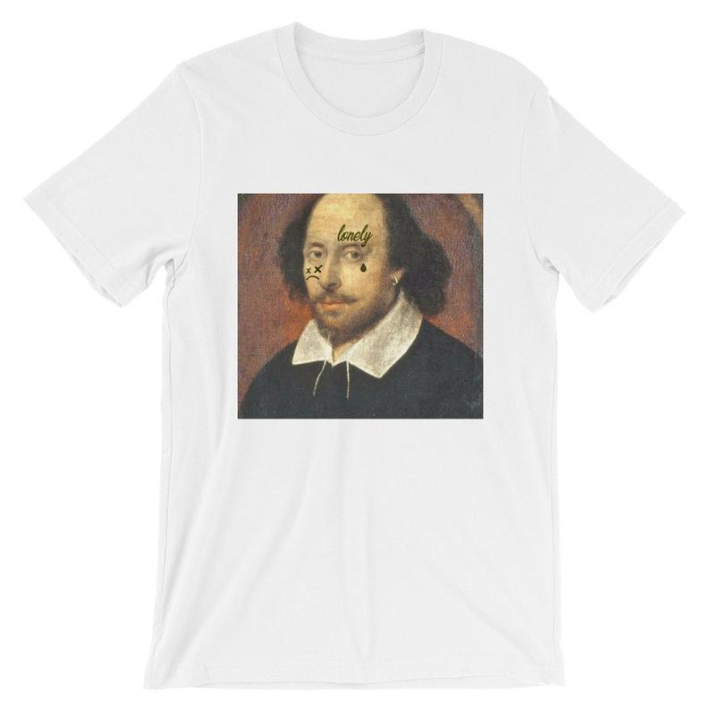 Face Tatt Shakespeare Unisex T Shirt NA