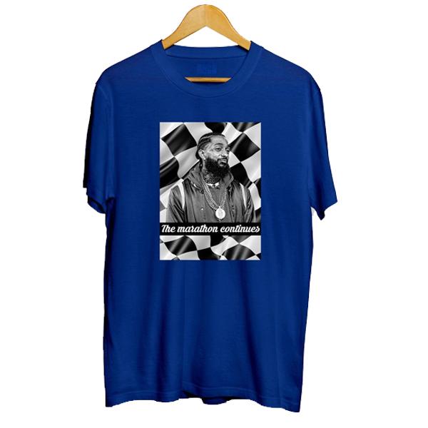 Nipsey Hussle Marathon t shirt NA