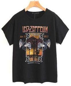 Zeppelin Rock Band t shirt NA