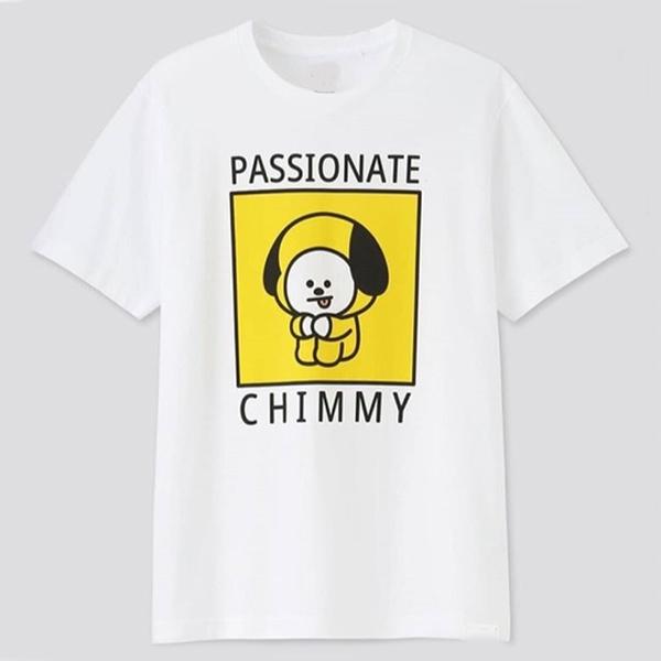 Passionate Chimmy Bt21 Uniqlo t shirt NA