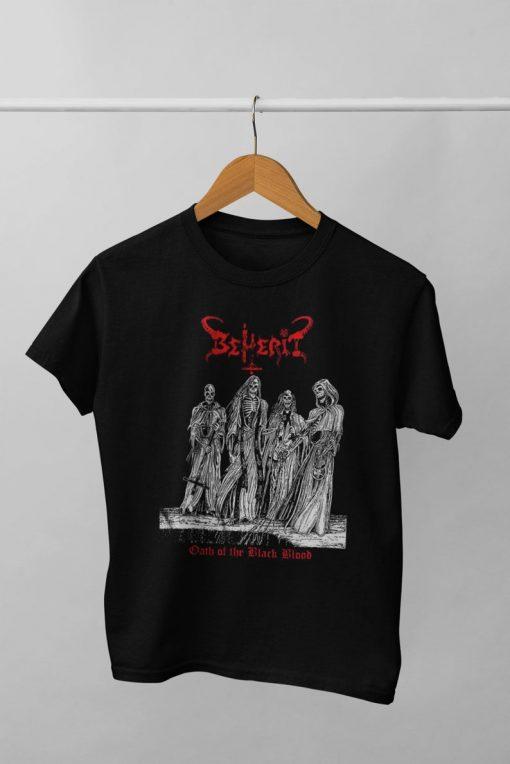 BEHERIT Satanic Metal T-shirt NA