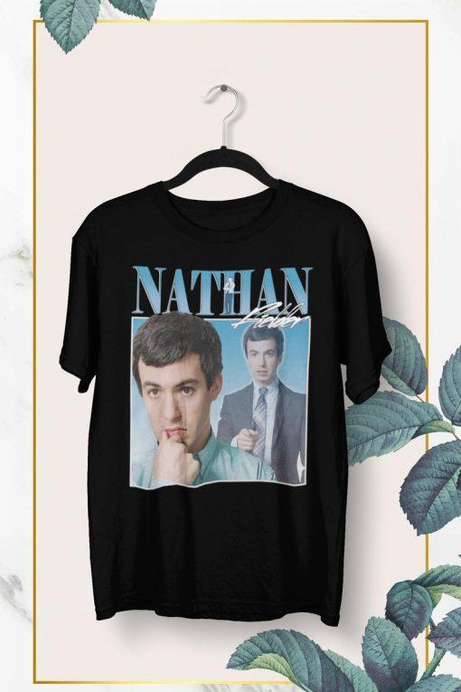 NATHAN FIELDER 90s Retro Vintage T-shirt NA