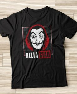 Bella Ciao tshirt NA