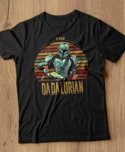 The Dadalorian Father's Day T Shirt NA
