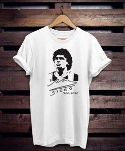 Diego Armando Maradona in memory T-Shirt NA